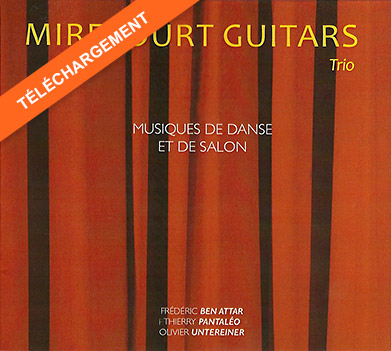 Pochette CD Trio de Guitares de Mirecourt